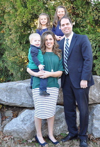 Pastor Epley and Family